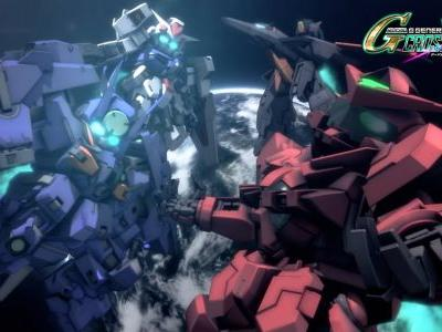 Check out the opening movie for SD Gundam G Generation Cross Rays