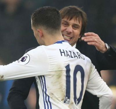 'Don't kick Hazard!' - Conte's World Cup warning to Chelsea duo Drinkwater & Cahill
