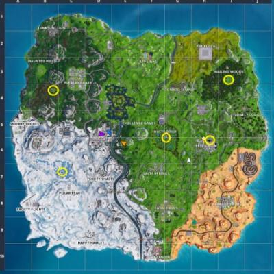 Fortnite: Where to find the letters