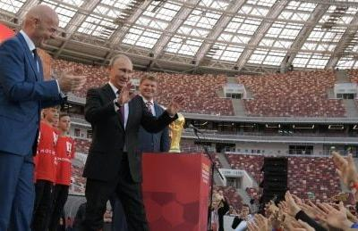 Vladimir Putin hopes World Cup will cleanse Russia's scandal-clad image