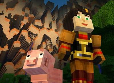 Netflix viewers control the story with interactive 'Minecraft: Story Mode'