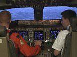 British Airways lets Red Arrows pilots land a Boeing 747 in one of its state-of-the-art simulators