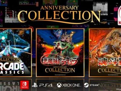 Konami Brings Three Anniversary Collections to Switch