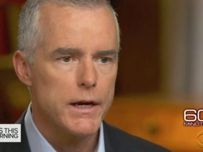 McCabe Spox Walks Back Remarks on Talks to Oust Trump Via 25th Amendment: 'Taken Out-of-Context'