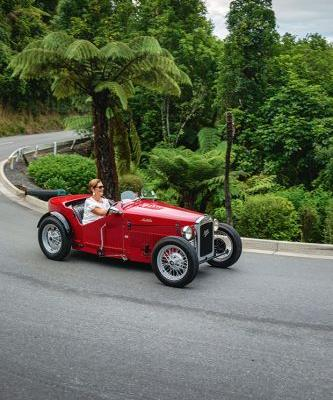 Best birthday gift ever? Jill Evans' husband kept the restoration of this Austin 7 Boat Tail a secret for an entire year