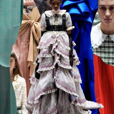 Gucci Turned The Backstage Into The Runway This Season