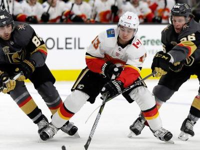 Tuch gets tiebreaker in 2nd, Golden Knights beat Flames