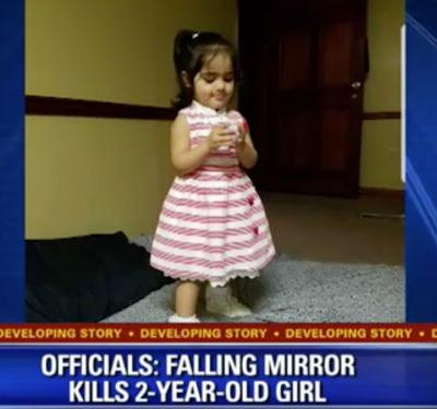2-year-old reportedly killed in a 'terrible freak accident' after a mirror falls on top of her at a Payless store