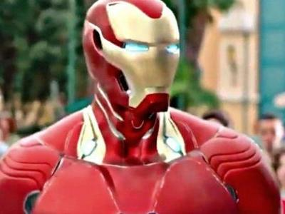 Iron Man's Infinity War Armor Unveiled in Disneyland Recruitment Video