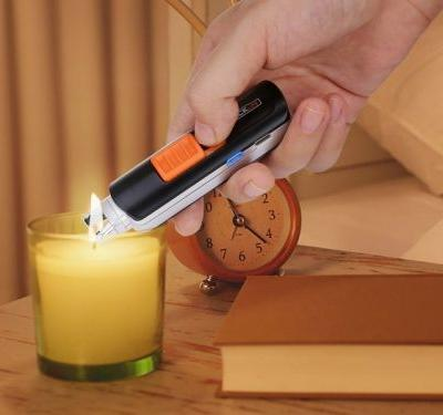Tacklife's $10 USB-rechargeable arc lighter never runs out of gas