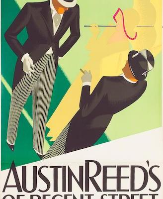 Tom Purvis' Austin Reed Posters