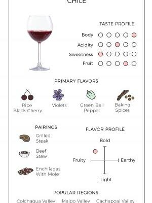 An Illustrated Guide to Cabernet Sauvignon From Chile