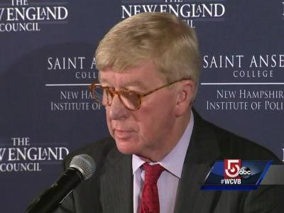 Former Gov. Bill Weld announces presidential exploratory committee