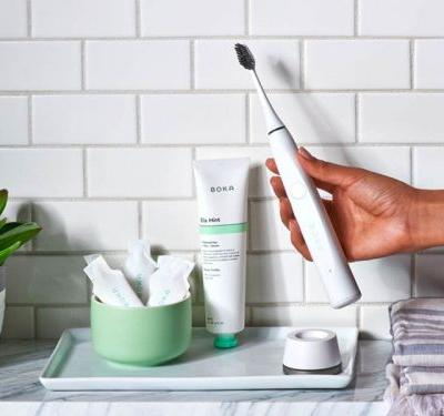 I tried a $75 electric toothbrush with bristles made from activated charcoal - here's how it worked