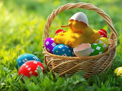 Easter Eggs on Our Portal!