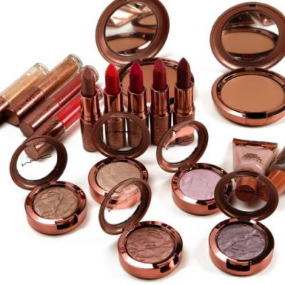 MAC Bronze Collection Swatches