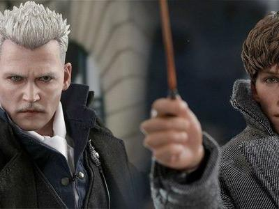 Cool Stuff: Cast Spells with 'Fantastic Beasts' Figures of Newt Scamander and Gellert Grindelwald