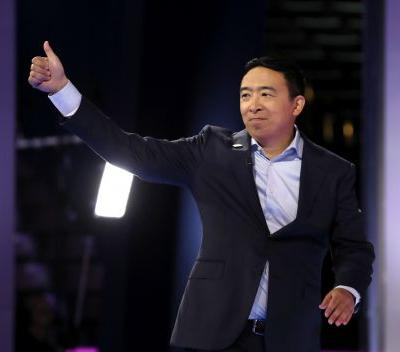 """Here's How To Enter Andrew Yang's """"Freedom Dividend"""" Raffle From The Sept. 12 Debate"""
