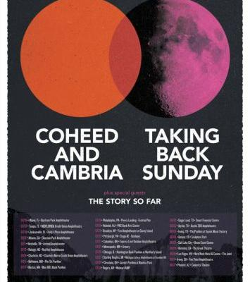 Coheed and Cambria and Taking Back Sunday announce US co-headlining tour