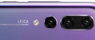 The Huawei P20 Pro's tri-camera setup will be led by a 40MP sensor