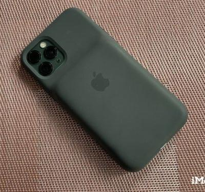 The Smart Battery Case is a great accessory for iPhone photographers