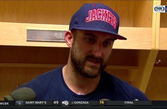 Nick Foligno credits Sharks for playing to their strengths, making Blue Jackets scramble