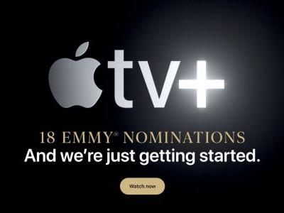 Apple TV+ and Its 18 Emmy Nominations Take Over Apple's Homepage