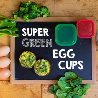 Super Green Egg Cups