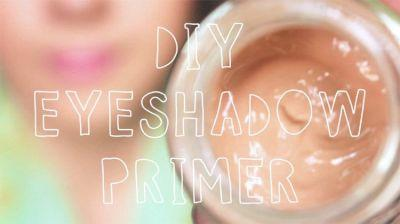 DIY Eyeshadow Primer | Easy & Affordable Primer That Works