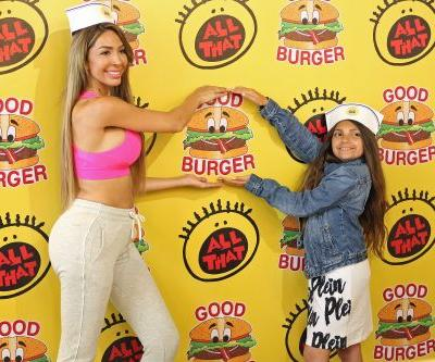Farrah Abraham and Daughter Sophia Look *So* Cute Dining at the 'Good Burger'-Themed Restaurant in L.A
