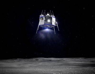 Blue Origin unveils lunar lander 'Blue Moon' and BE-7 rocket engine