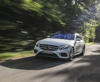 New Mercedes E 300 de plug in hybrid now available to order in the UK