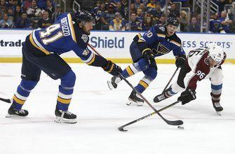 Tarasenko leads Blues past Avalanche to snap four-game skid