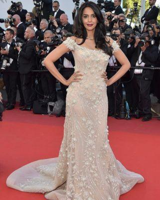 Mallikasherawat was stunning in GEORGES HOBEIKA for the Opening