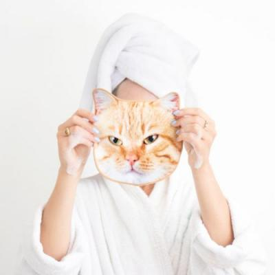 Cat Face Cloths Exist, and Obviously, They're Cute as F*ck