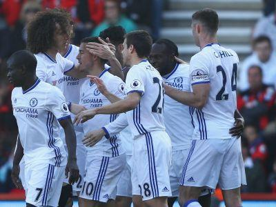 Bournemouth 1 Chelsea 3: Conte's men restore seven-point lead