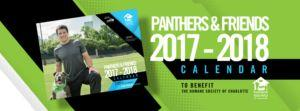 2018 Carolina Panthers Pet Calendar Helps Dogs in Need