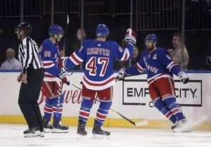 Buchnevich scores go-ahead goal, Rangers hold off Sabres 4-3