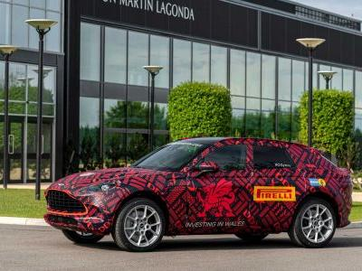 Aston Martin DBX Enters Pre-Production At New St Athan Plant