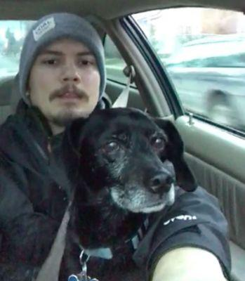 Pizza Guy Stops Everything To Rescue Dog (The Only Good Excuse For Delivering Cold Pizza)