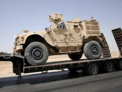 Armored US combat vehicles have been spotted pouring into Syria