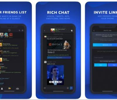 Valve Releases New Steam Chat App for iOS