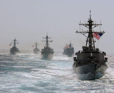 The US military is planning a serious showdown with China, a significant show of force on tense tides involving American warships and aircraft