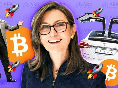 Cathie Wood says digital wallets will 'gut' traditional banks - and expects bitcoin to rise by as much as $400,000