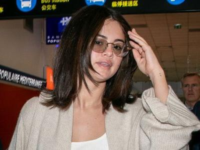 Selena Gomez Arrives in France Before the Cannes Film Festival Looking Like a Dream