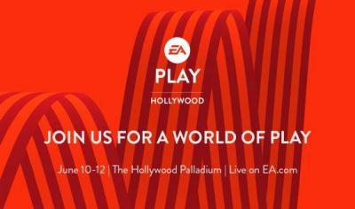 EA Play 2017 Runs From June 10 to 12