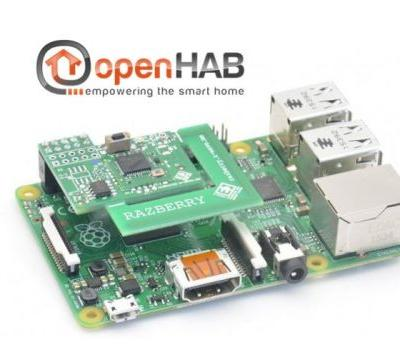 Raspberry Pi home automation project with OpenHAB