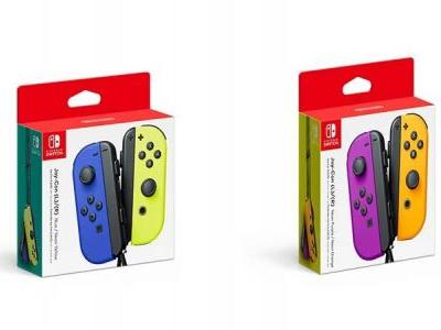 Nintendo Releasing New Switch Joy-Con Colors