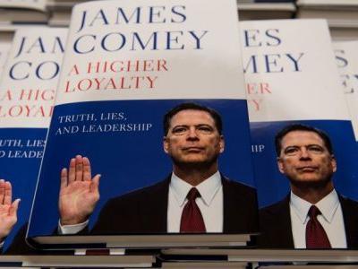 CBS Nears Deal on James Comey Memoir Miniseries