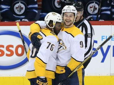 NHL playoffs 2018: Forsberg, Arvidsson each score twice to lift Predators to Game 6 victory